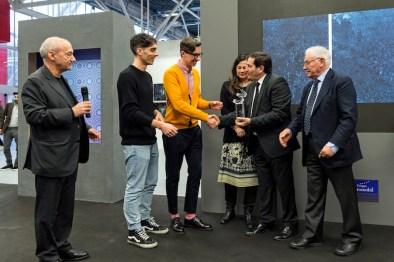 La consegna del Premio, Premio Gruppo Euromobil Under 30, Bologna