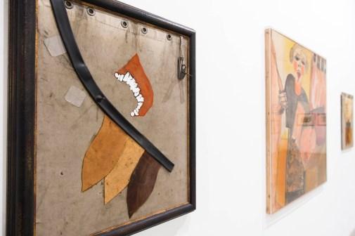 La passione secondo Carol Rama, veduta della mostra, GAM Torino. Foto: Giorgio Perottino