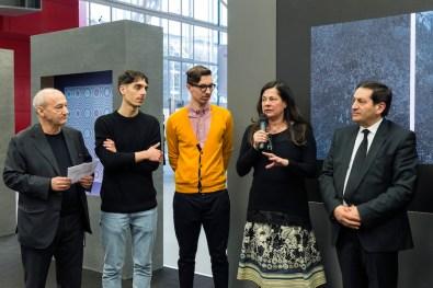 Roberto Gobbo, The Cool Couple, Beatrice Buscaroli, Gaspare Lucchetta, Premio Gruppo Euromobil Under 30, Bologna (premiazione)