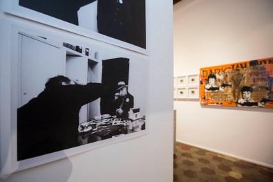 Maurizio Galimberti. Rotella ritrovato | Italiancode. Rotella ricodificato, veduta della mostra, Dada East Gallery, Milano Foto Ivano De Pinto