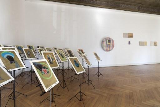 Albano Morandi. Immagini rubate a memoria, veduta della mostra (prima sala), Galleria Milano, Milano