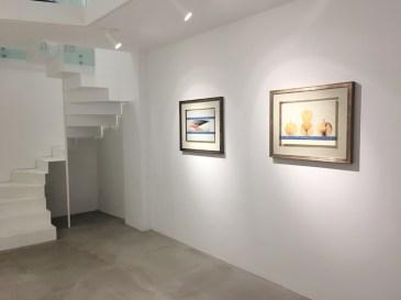Jiří Kolár. Il poeta del collage, veduta della mostra, MAAB Gallery, Milano