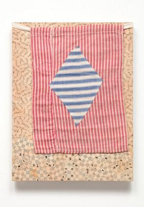 Jiří Kolář, Il gioco celato, 1974, linton, 40x30 cm