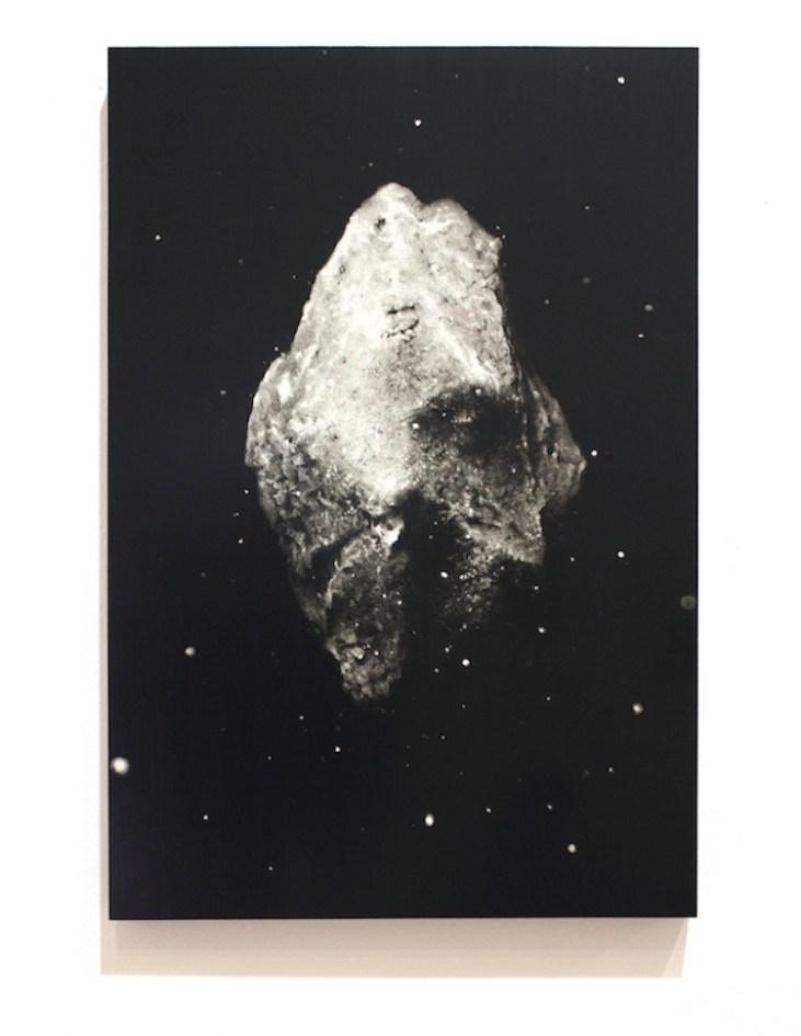 Ettore Frani, E' di luce il respiro della terra, 2017, olio su tavola laccata, 60x40 cm Foto di Paola Feraiorni
