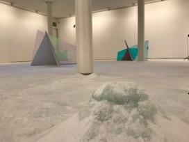 Matteo Negri. Diciassette sculture a colori, veduta della mostra, Lorenzelli Arte, Milano Courtesy Lorenzelli Arte, Milano
