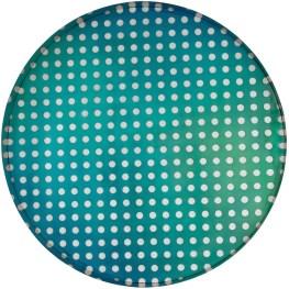 Matteo Negri, Kamigami Aqua Bubble, 2017, tecnica mista su legno, acciaio cromato e verniciato, 160x160x17 cm Courtesy Lorenzelli Arte, Milano