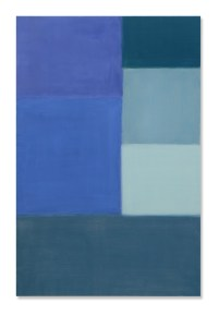 Nataly Maier, Sconfinitudini, 2016, tempera all'uovo, 165x110 cm Courtesy Artesilva, Seregno