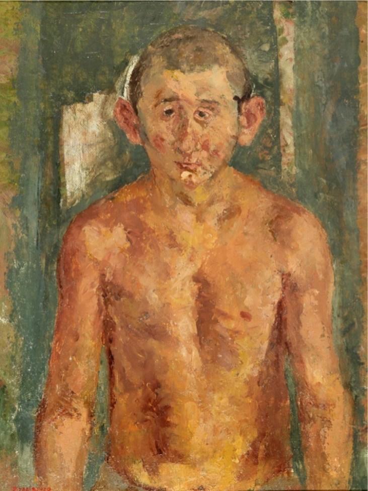 Fausto Pirandello, Ritratto di Antonio Pirandello
