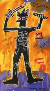 Jean Michael Basquiat, Julius Caesar