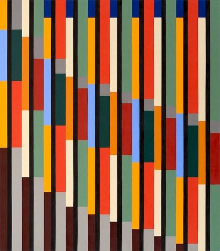Marco Petrus, M2, 2015, olio su tela, 170x150 cm