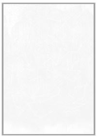Carlos Lalvay Estrada (La Maná - Cotopaxi – Ecuador, 1985), Constelación, 2016-2017, pastello inciso bianco, filo cotone bianco su carta cotone 300 gr, 60x70 cm
