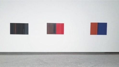 Luc Peire. Quando la geometria non è solo emozione, veduta della mostra, Lorenzelli Arte, Milano Courtesy Lorenzelli Arte, Milano
