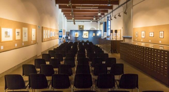 Giancarlo Vitali. Time Out, veduta dell'allestimento, Sala Achille Bertarelli, Castello Sforzesco, Milano