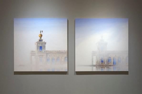 """Veduta della mostra """"Roger de Montebello. Ritratti di Venezia"""", Museo Correr © Barasciutti"""