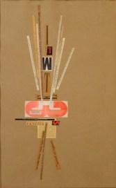Bruno Munari, Senza dta, collage su carta, 48x33 cm Courtesy Galleria Stefano Forni