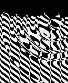 Franco Grignani, Liquefazione ottica, 1955 esperimento ottico ai sali di bromuro, d'argento, 29.8x24.4 cm Foto di Bruno Bani Courtesy 10 A.M. Art, Milano