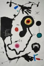 Joan Mirò, Barcelona (Cramer BKS. 173), 1973, acquatinta, acquaforte e litografia a colori su carta, 105.5x69.5 cm Foto Artrust SA