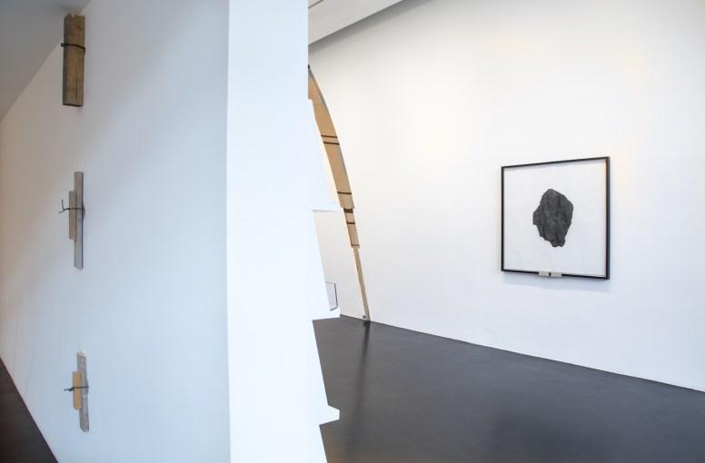 Veduta della mostra di Santiago Reyes Villaveces, Alessandro Casciaro Galery, Bolzano