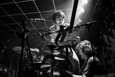 Marlene Kuntz. Cristiano Godano, Luca Bergia – Live Catartica Tour (2014) © Simone Cargnoni – JUMP CUT
