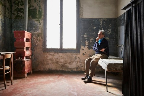 Alberto Garutti, ritratto a Ca' Corniani Foto Agostino Osio