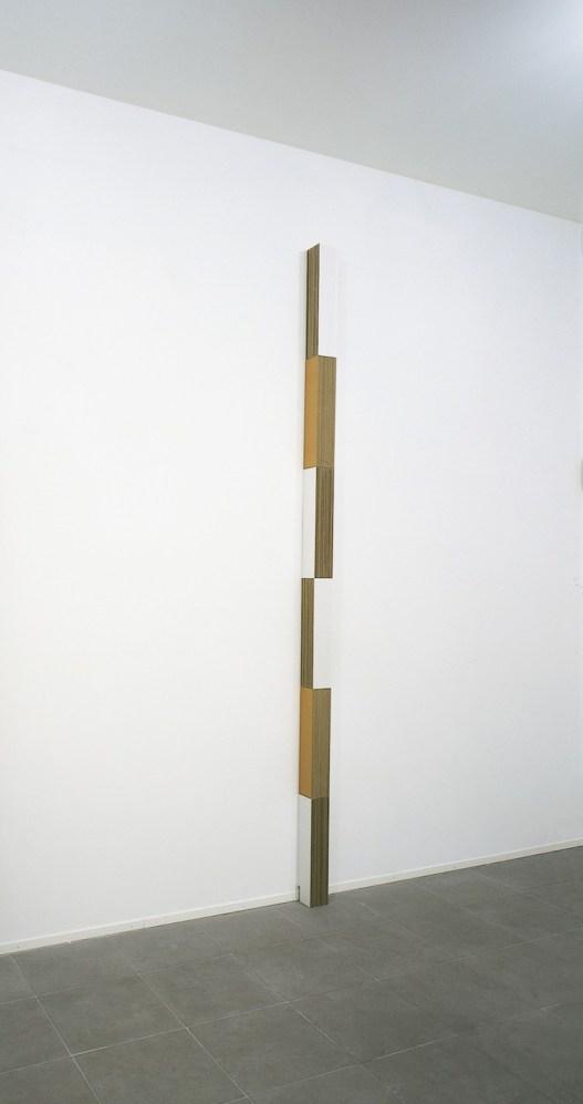 Lesley Foxcroft, Arial 2, 2002 Carta e perspex © A arte Invernizzi, Milano