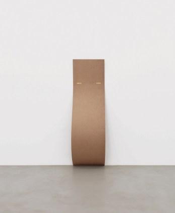 Lesley Foxcroft, Just Resting, 2010, MDF, 200x60x35.5 cm © A arte Invernizzi, Milano Foto Bruno Bani, Milano