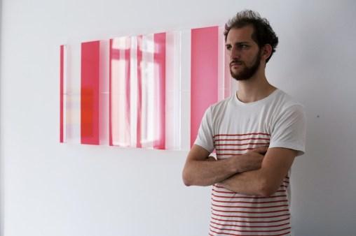 Leonardo Gambini. Visible and Invisible (Leonardo Gambini), veduta della mostra, Winarts, Milano