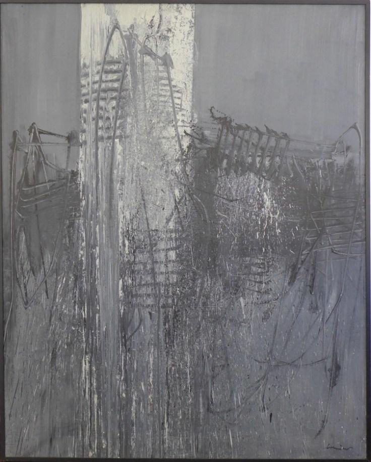 Emilio Scanavino, Nascita di una forma, 1960 Courtesy De Primi Fine Art Lugano (opera acquisita da Fondazione Cariverona)