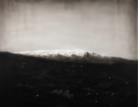 Ettore Frani, Prima sorgente, 2017, olio su tavola laccata, 91x120 cm Foto Paola Feraiorni