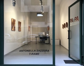 Antonella Zazzera. T-rame, veduta della galleria, Spazio PAePa, Milano
