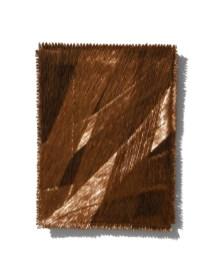 Antonella Zazzera, Quadro II/M17, 2017, fili di rame, 71x52.5x4 cm