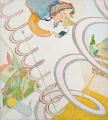 Luca Alinari, Elicoide e paesaggio, olio su tela, 90x100 cm Foto Fabrizio Stipari / CreVal