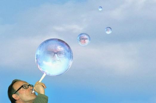 Licinio Sacconi, Soffiare la propria bolla