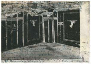Luca Pignatelli, Standard, 2010-2015, tecnica mista e inchiostro su carta, 31x43 cm