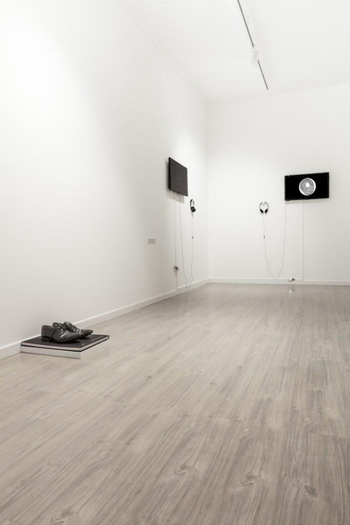 Mounir Fatmi. Transition State, veduta della mostra, Officine dell'Immagine, Milano Foto Elena Radice