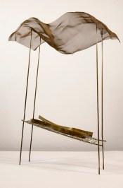 Fausto Melotti, Aprile, 1984, ottone, Collezione privata