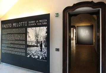 Fausto Melotti. Quando la musica diventa scultura, veduta della mostra, Fondazione Cosso, Castello di Miradolo, San Secondo di Pinerolo (TO)