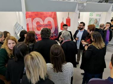 Tastin' Paintings for Espoarte 100, 3 febbraio 2018, Arte Fiera, Bologna