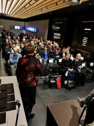 Talk for Espoarte 100, 3 febbraio 2018, CUBO - Centro Unipol BOlogna