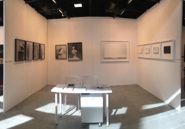 Una veduta dello stand di Passaggi Arte Contemporanea a MIA Photo Fair 2018