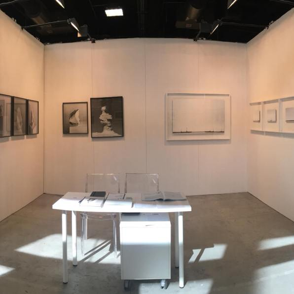 Una veduta dello stand di Passaggi Arte Contemporanea a MIA Photo Fair 2018