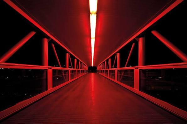Cristian Castelnuovo, Senza Titolo Tunnel, 2009 stampa Ink Jet su tela, cm 125x210, edizione 1 di 3 + p.a.