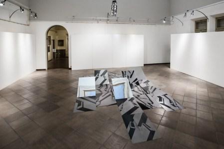 Nadia Galbiati. Luoghi, veduta della mostra, Museo MAM, Gazzoldo degli Ippoliti (MN)