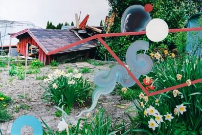 Lutz & Guggisberg, Il sogno dell'architetto / The Architect's Dream, 2018, acrilico su c-print, 80 x 120 cm, © Lutz & Guggisberg, Ph. Nadine Kägi