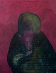 Lorenzo Aceto, Studio di Pergolesi, 2016, olio su lino, 130x100 cm