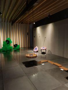 veduta della mostra Anna Skoromnaya. Kindergarten. Childhood Denied presso Spazio ARTE di CUBO Unipol Bologna