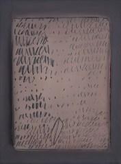 Agostino Ferrari, S.T., 1963, tempera su tela, 80x60 cm