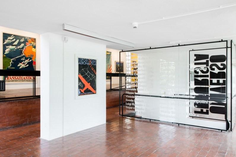 Veduta della mostra Universo Futurista, foto di Simone Nocetti, courtesy Fondazione Massimo e Sonia Cirulli