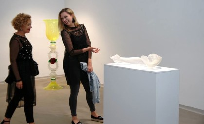 Glasstress, veduta della mostra, Galleria mesta Ptuj, Ptuj Foto Srdan Mohorič