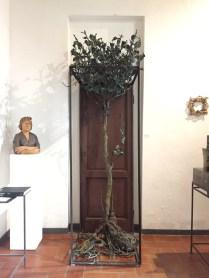 Alik Cavaliere, La Porta o Paesaggio e d'intorni, 1969-1977, bronzo, ferro e legno, cm 270x108x94, Centro Artistico Alik Cavaliere, Milano Foto di Nino Cannatà